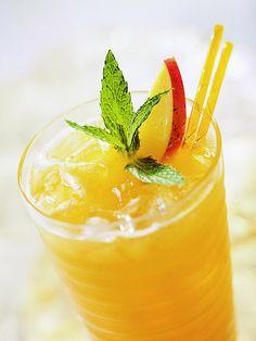 greent tea-mango sorbet