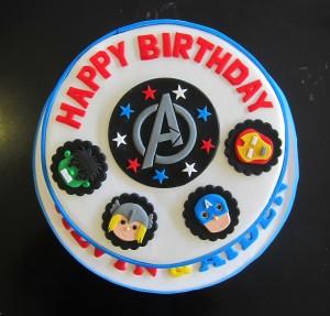 Avengers2 birthday cake