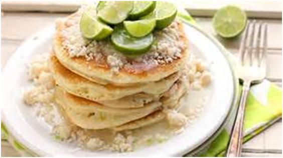 key lime pie pancakes