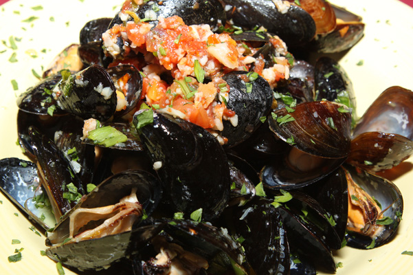 Mussels at Benedetto's
