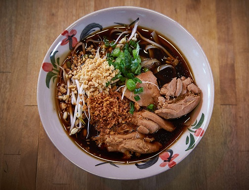 Noodle Soup with Chicken at Noodle Station