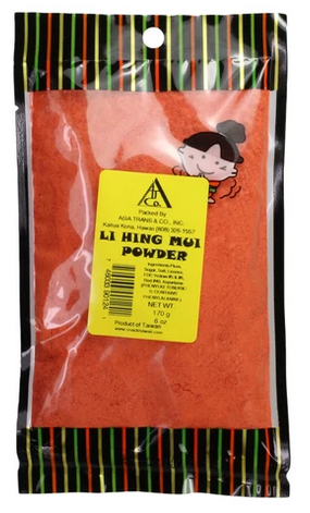 li hing mui powder